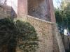 Muralles de Girona. Aquí veiem l'anomenada Torre del Telègraf i/o Torre del Llamp. Es tracta de la torre nº 208 de la línia de Torres de Telegrafia Òptica civil del ramal de Barcelona a La Jonquera i al mateix temps, també era la torre nº 61 de la línia de Torres de Telegrafia Òptica militar del ramal Barcelona-Girona.