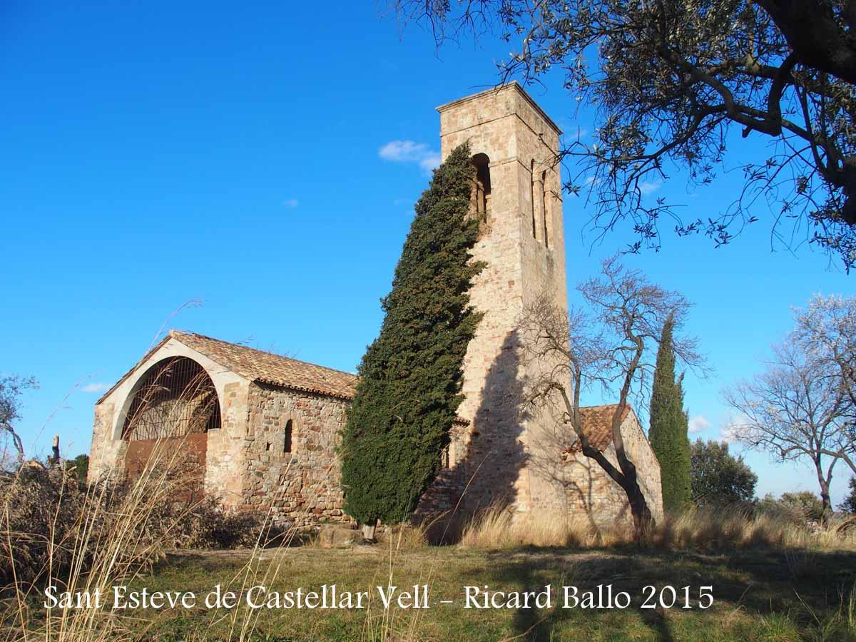 Antiga esgl sia parroquial de sant esteve de castellar vell castellar del vall s vall s - Casas en el valles occidental ...