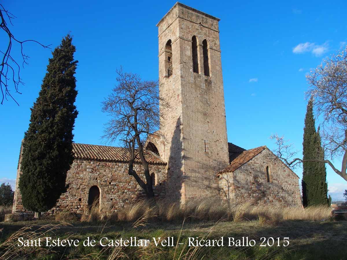 Antiga esgl sia parroquial de sant esteve de castellar - Tiempo castellar del valles ...