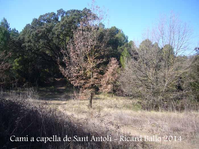 Capella de Sant Antolí – Monistrol de Montserrat - Itinerari.