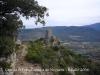 Vistes des de la Capella de Sant Feliu / Guàrdia de Noguera: Castell de Guàrdia.