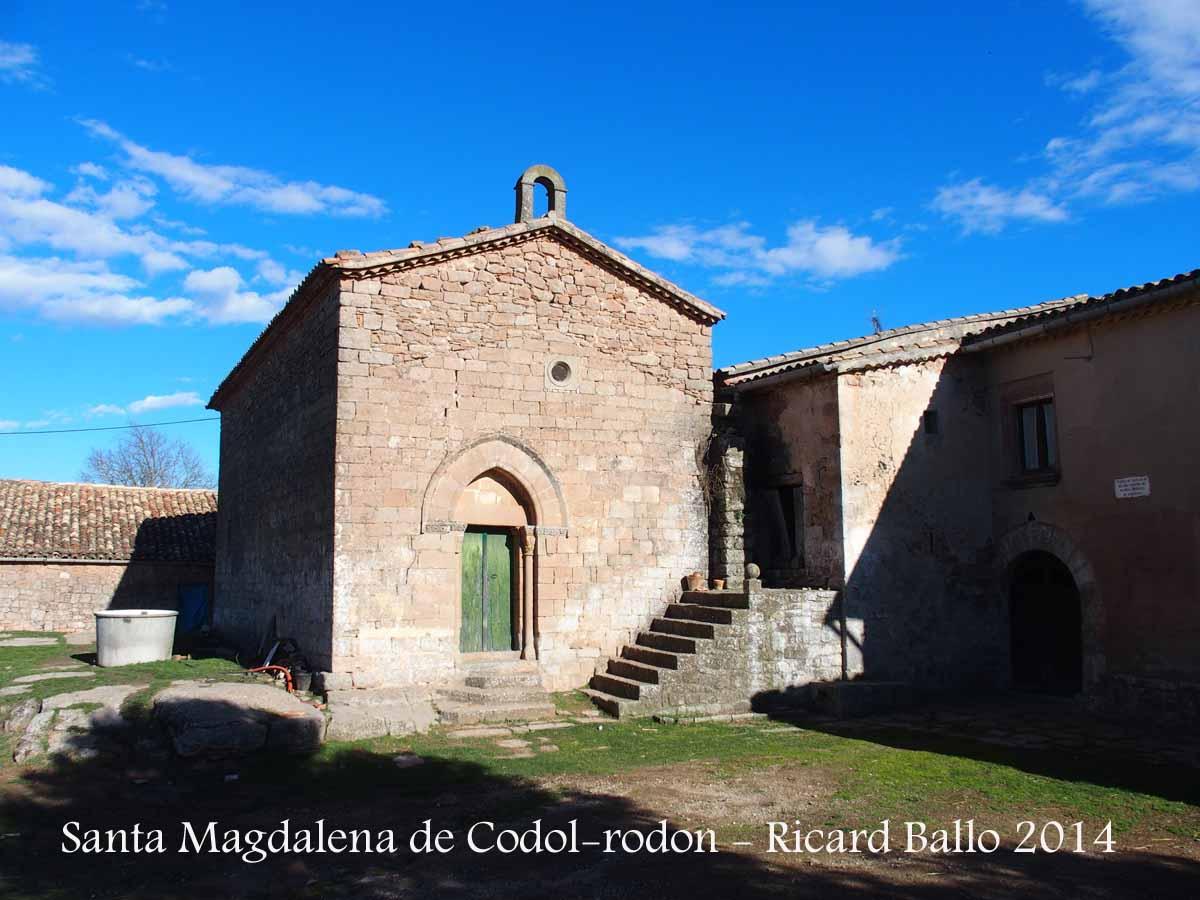Capella de santa magdalena de c dol rodon aguilar de for Piscina aguilar de segarra