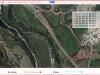 Capella de Santa Margarida de l'Alou – Balsareny / Itinerari - Captura de pantalla de Google Maps, complementada amb anotacions manuals.