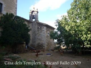 Casa dels Templers - Capella de Santa Magdalena.