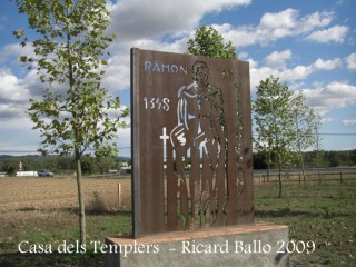 Casa dels Templers: Parc Camí del Temple.
