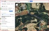 Casa forta de Torreferrada - Itinerari - Captura de pantalla de Google Maps, complementat amb anotacions manuals.