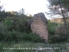 Camí que des del castell d'Almudèfer (Caseres) es dirigeix a Horta de Sant Joan, passant primer a tocar d'Arenys de Lledó (Terol - comarca del Matarranya). Durant el recorregut hem trobat aquesta construcció. Posteriorment, a casa, no hem localitzat cap informació. Podria ser una torre de guaita o de defensa (?). A l'interior, la base, és plena d'aigua. N 41 00 09.28 E 00 16 16.62