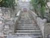 Castell d'Argimon - Escales d'accés al Santuari