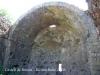 Castell de Besora - Església de Santa Maria, l\'element més significatiu del conjunt.