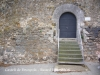 Castell de Brunyola - Una porta d\'entrada.