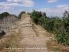 Castell de Cabrera - llengua de terra que duu al castell.