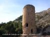 Castell de Castelló. Torre albarrana situada als peus del castell.