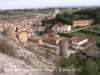 Vistes de Castelló de Farfanya, des de la planura del castell.
