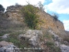 Restes del Castell de Corçà.