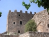 Castell de Creixell - Pati interior.