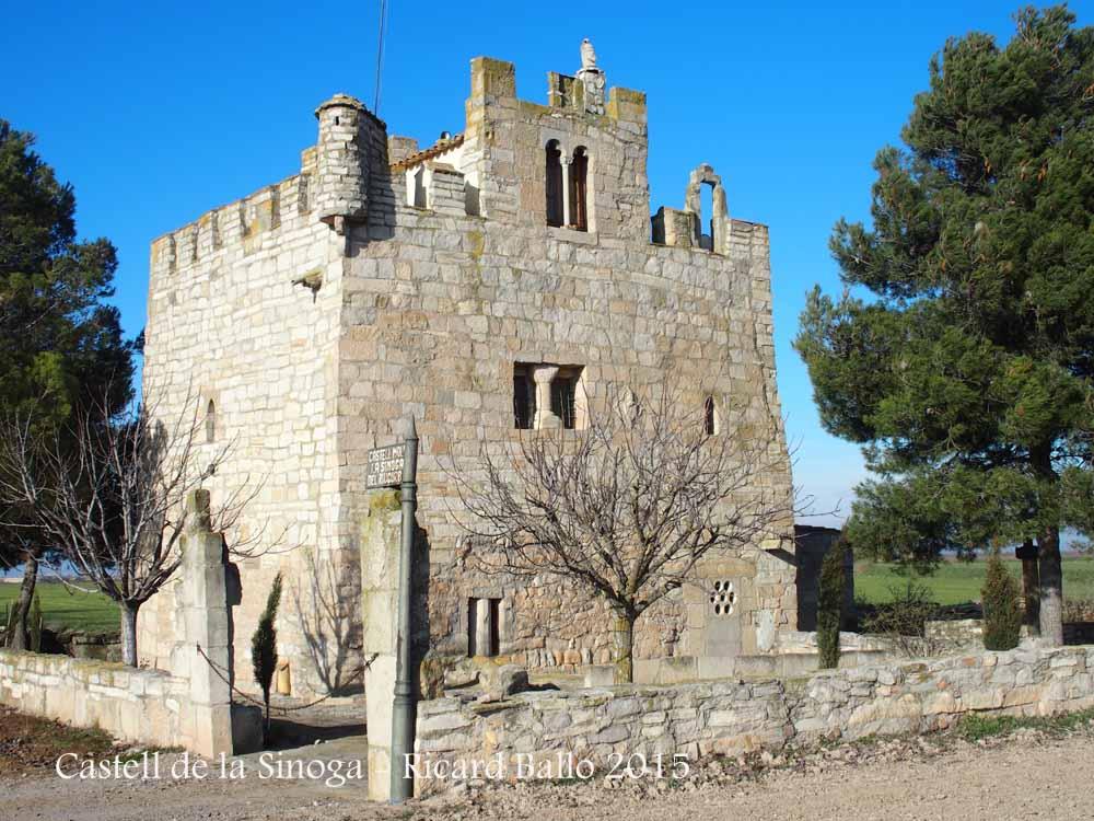 Castell de la sinoga sant mart de riucorb urgell for Malda lleida