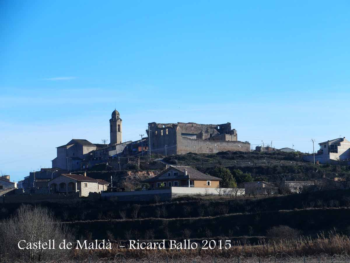 Castell de mald mald urgell catalunya medieval for Malda lleida