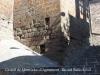"""Castell de Montfalcó d'Agramunt – Ossó de Sió - """"A la base, però, els carreus són més desiguals, signe d'una construcció anterior a la resta de la torre."""""""