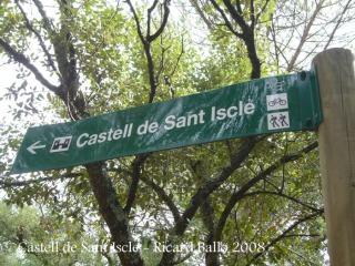 Camí al castell de Sant Iscle
