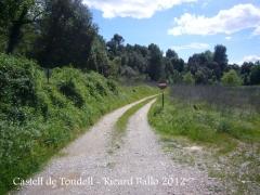 Castell de Toudell.