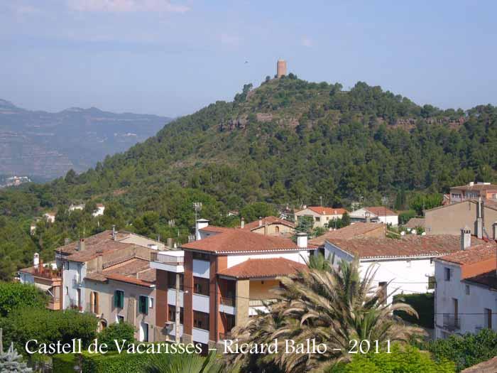 Castell de vacarisses vall s occidental catalunya medieval - Casas en el valles occidental ...