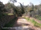 Castell de Vila-romà.