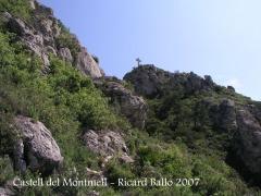 Castell del Montmell: Camí d'accés.