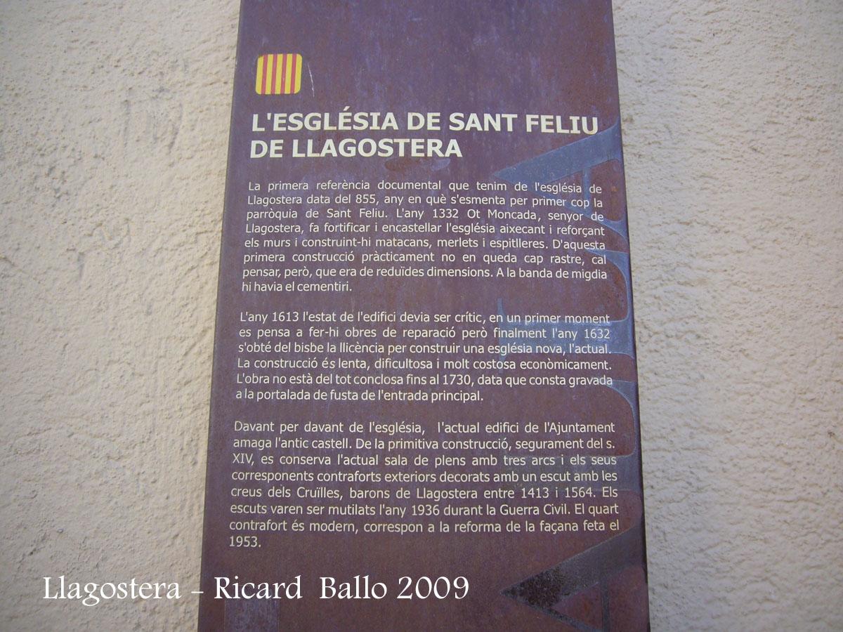 Castell i muralles de Llagostera