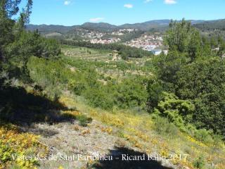 Vistes des de l'Ermita de Sant Bartomeu – Riudecols