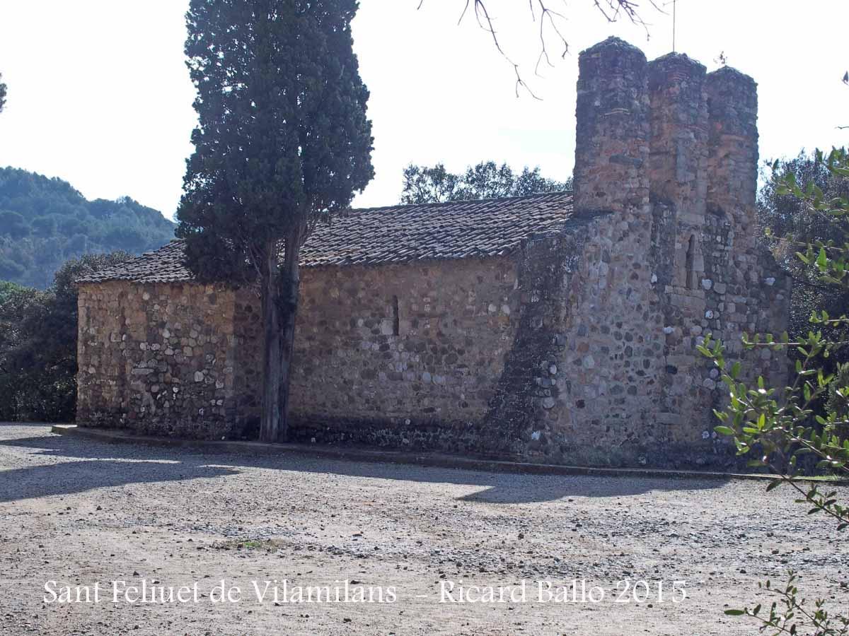 Ermita de sant feliuet de vilamilans sant quirze del - Tiempo en sant quirze ...
