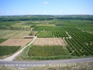 Vistes des de l'Ermita de Sant Joan de Carratalà.