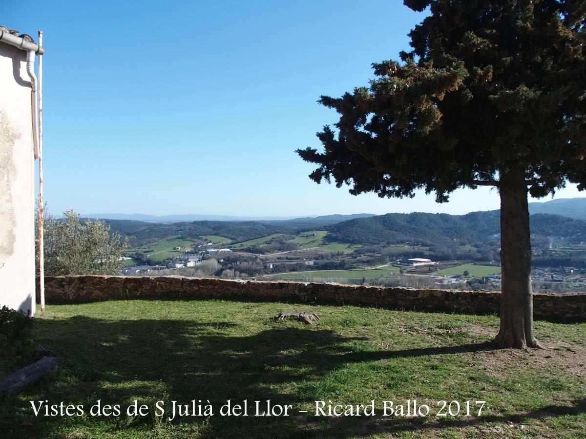 Vistes des de l\'Ermita de Sant Julià – Sant Julià del Llor i Bonmatí