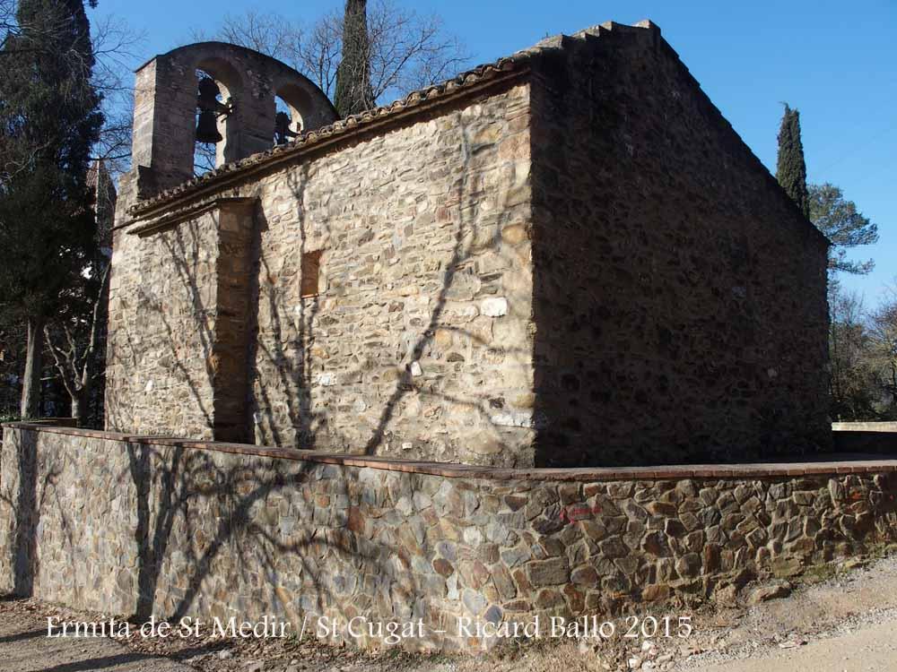 Ermita de sant medir sant cugat del vall s vall s - Mudanzas sant cugat del valles ...