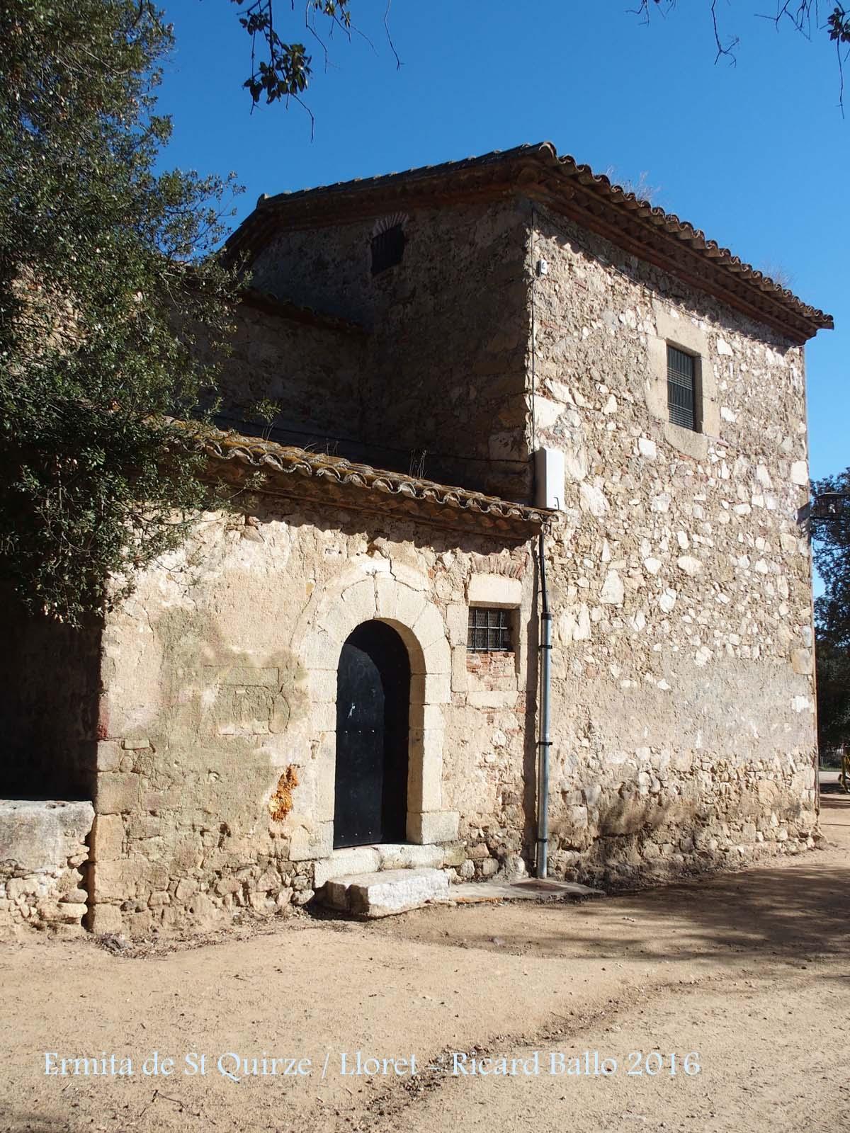Ermita de sant quirze lloret de mar selva catalunya - Tiempo en sant quirze ...
