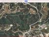 1-Ermita de Sant Simeó estilita – El Bruc - Itinerari - Captura de pantalla de Google Maps, complementada amb anotacions manuals.