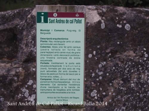 Església de Sant Andreu de Cal Pallot – Puig-reig