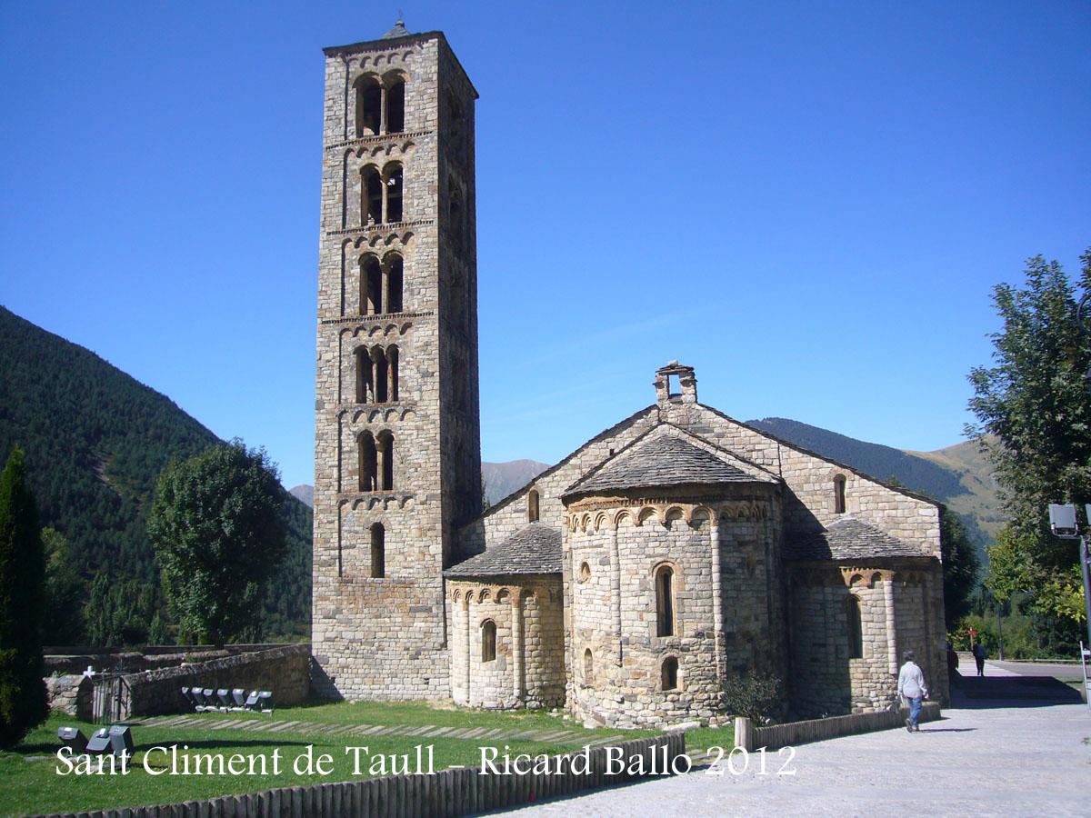 Església de Sant Climent de Taüll – La Vall de Boí / Alta ...