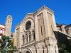 Església de Sant Joan – Lleida - A l'esquerra de la fotografia, al fons, apareix el campanar de la Seu Vella de Lleida