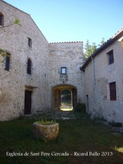 Església de Sant Pere Cercada – Santa Coloma de Farners - Pati.
