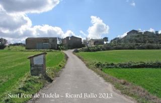 Església de Sant Pere de Tudela - recorregut - Inici itinerari.