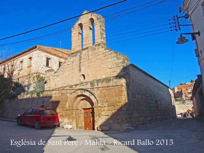 Esgl sia de sant pere mald urgell catalunya medieval for Malda lleida