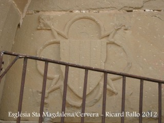 Església de Santa Magdalena - Cervera.