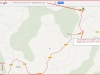 Església de Santa Maria de Cornet – Sallent - Itinerari - Captura de pantalla de Google Maps, complementada amb anotacions manuals.