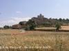 Malgrat, presidit pel castell de Malgrat. A la dreta de la fotografia s\'endevina la presència de l\'església de Santa Maria de Malgrat.