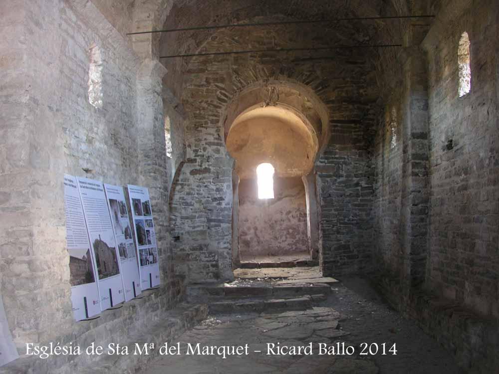 Esglu00e9sia de Santa Maria del Marquet u2013 El Pont de Vilomara i ...