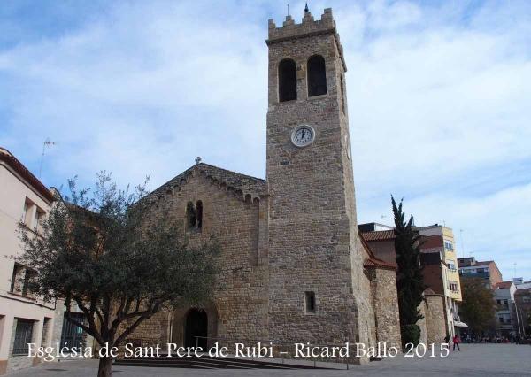 Església parroquial de Sant Pere de Rubí – Rubí