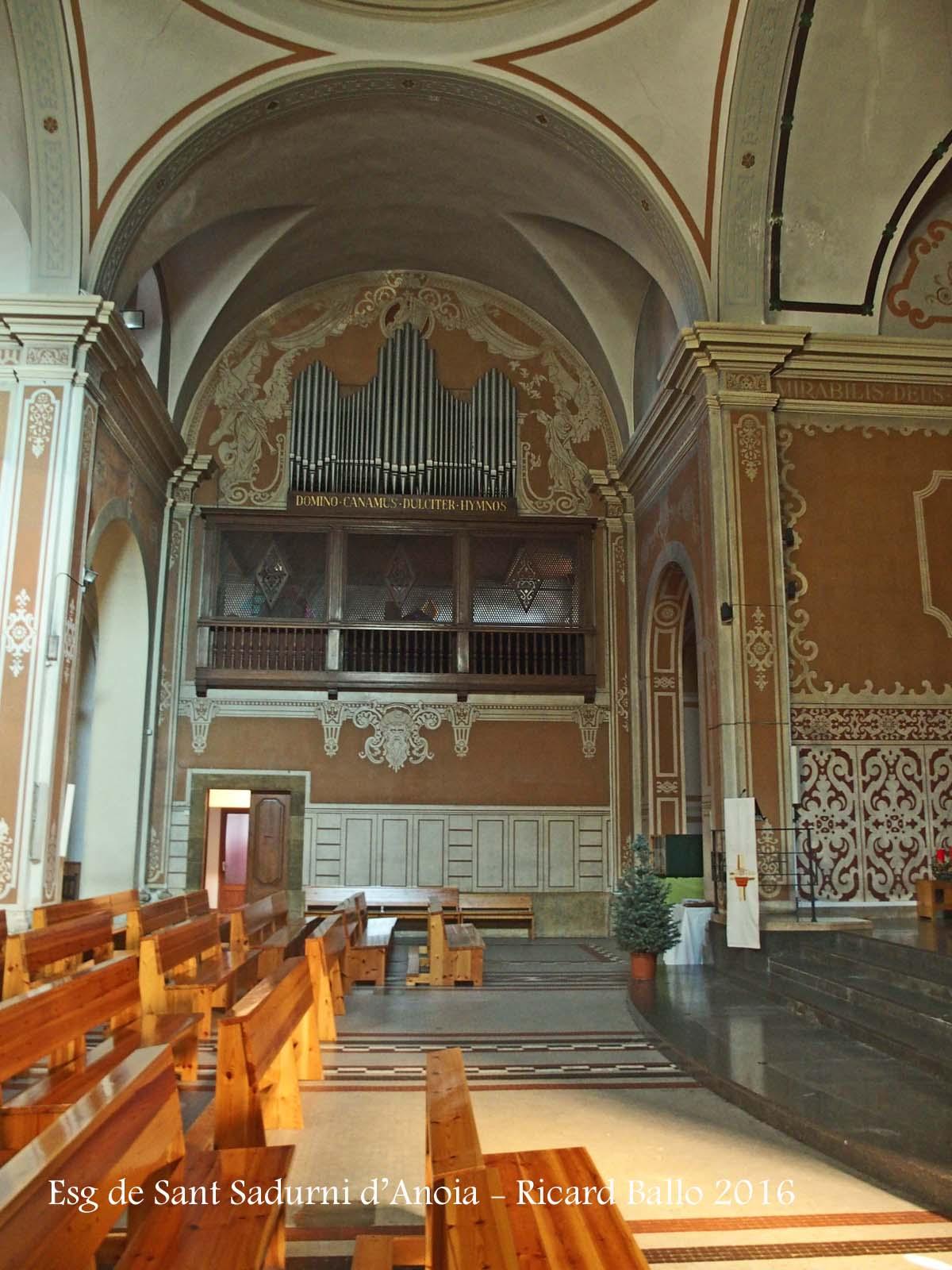 Esgl sia parroquial de sant sadurn sant sadurn d anoia alt pened s catalunya medieval - Muebles sant sadurni d anoia ...