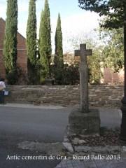 Església parroquial de Sant Salvador de Gra – Torrefeta i Florejacs - Cementiri.