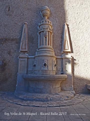Església VELLA de Sant Miquel – Mont-roig del Camp