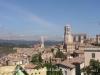 Muralles de Girona. Girona des del camí de ronda.